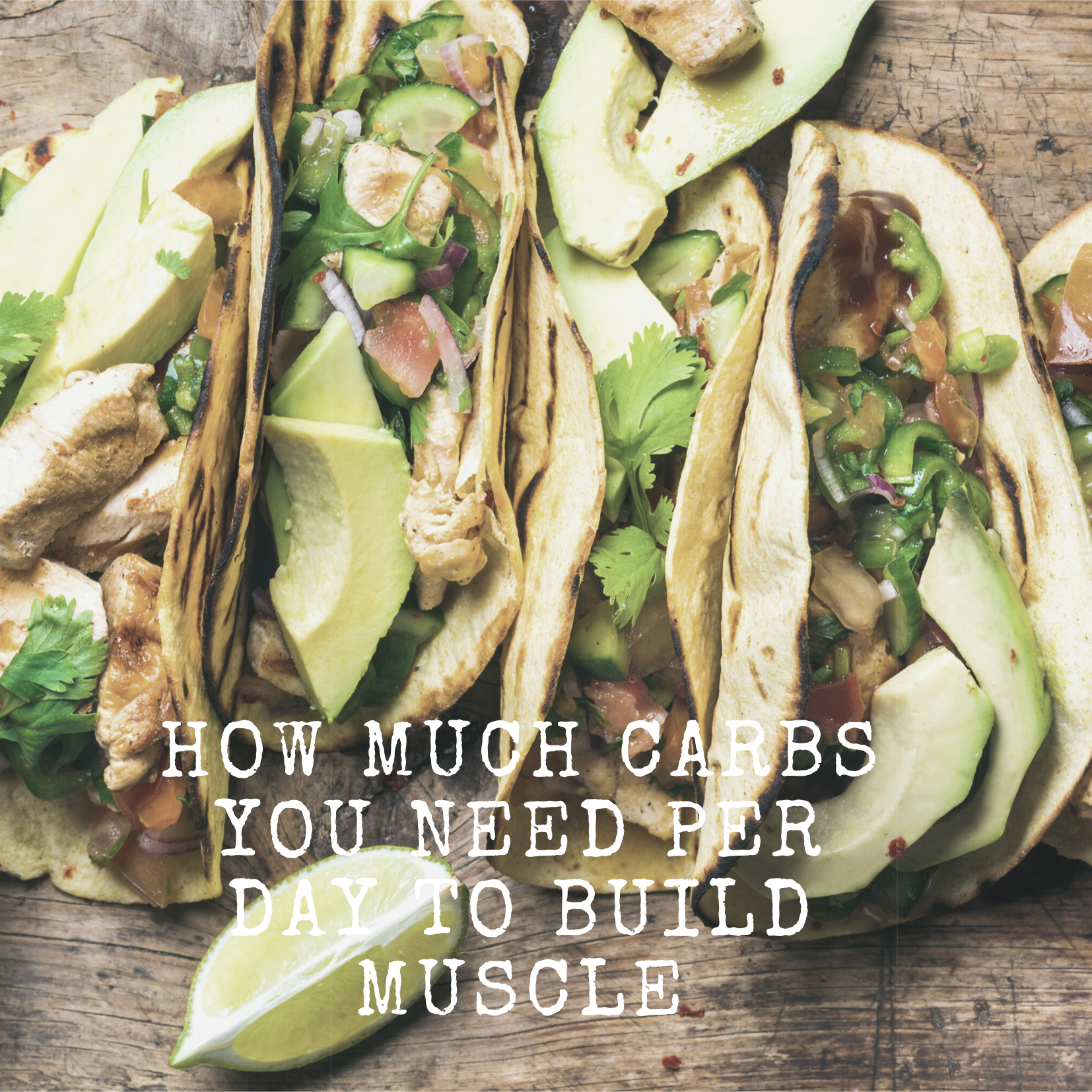 How Much Carbs You Need Per Day To Build Muscle